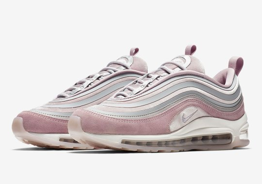 "Nike Air Max 97 Ultra '17 ""Pink Blush"" Is Coming In January"