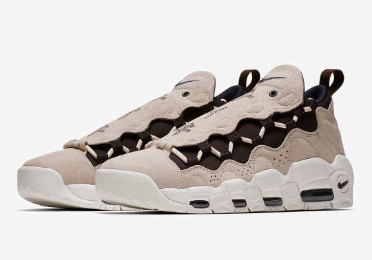 "Official Images Of The Nike Air More Money ""Japanese Yen"" Emerge"