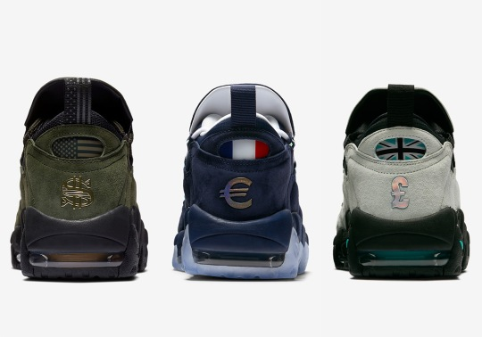 The Nike Air More Money Will Debut With Global Currency Pack