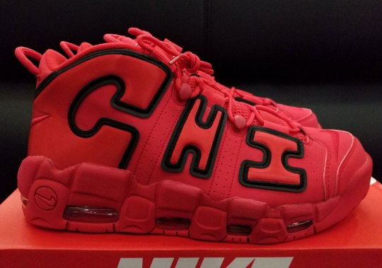 "Nike Air More Uptempo ""Chicago"" Releases On December 20th"