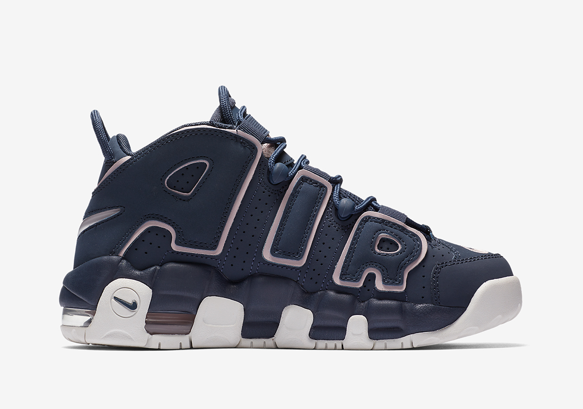 nike air more uptempo rosse