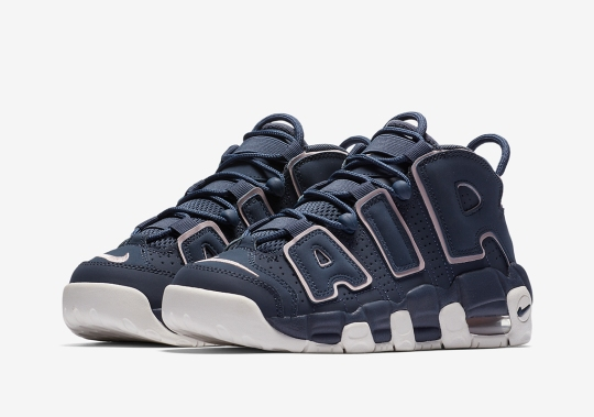 Nike Dresses the Air More Uptempo In Thunder Blue For Kids
