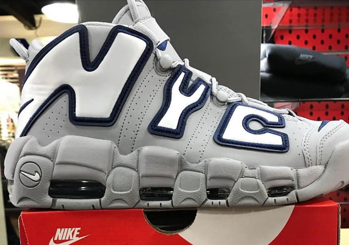 "Closer Look At The Nike Air More Uptempo ""NYC"""