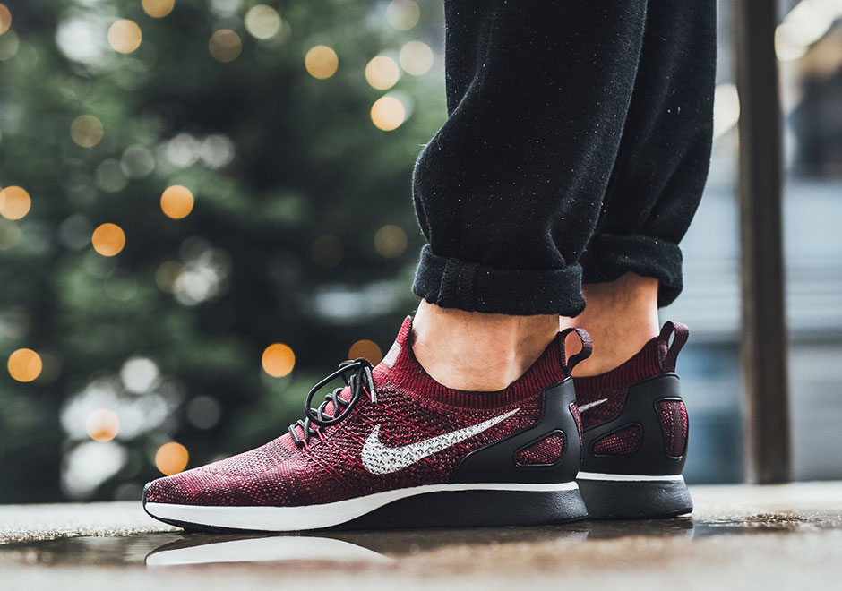 "Nike Adds A ""Deep Burgundy"" Hue To The Zoom Mariah Flyknit Racer"