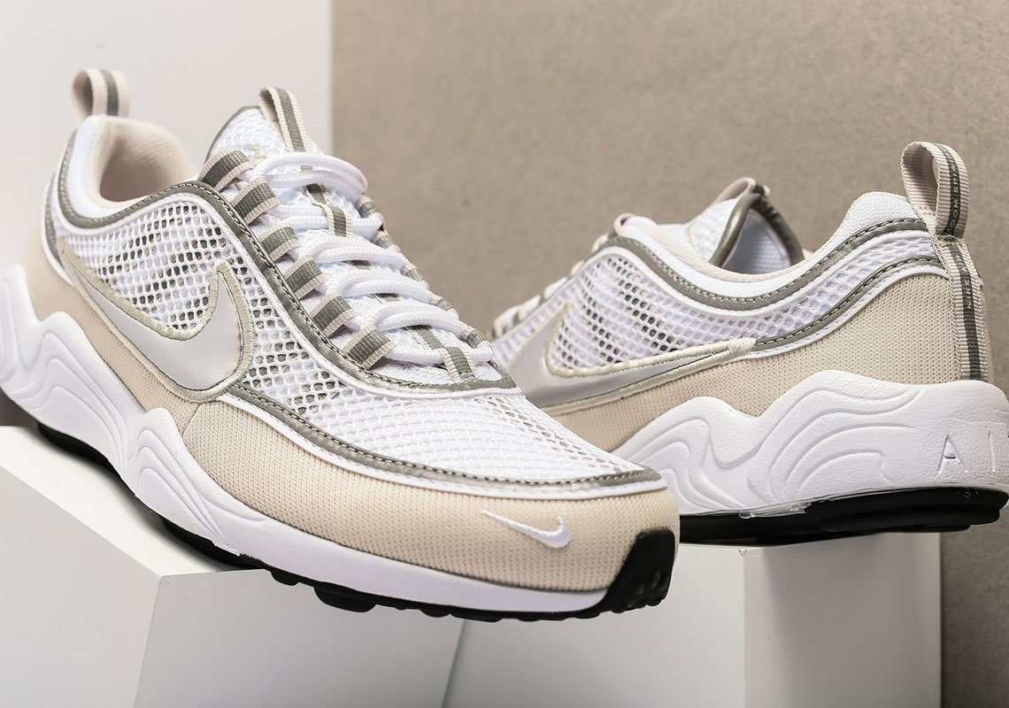 09196b16841c7 Nike Air Zoom Spiridon  16. AVAILABLE FROM Oneness  160. Color  WHITE METALLIC  SILVER Style Code  926955-105
