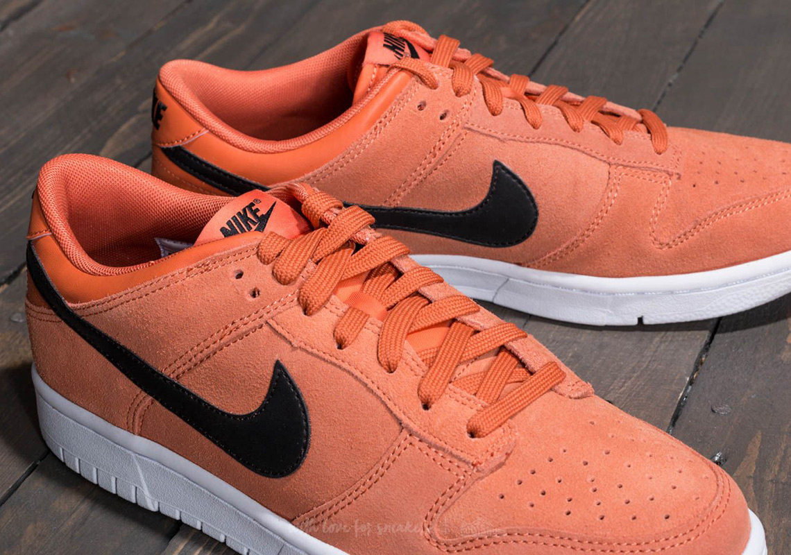 Nike Dunk Low Mineral Yellow And Terra Orange Available Now ... 1205ada00