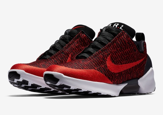 "Nike HyperAdapt 1.0 ""Habanaro Red"" Features New Patterns bcbed4dde"