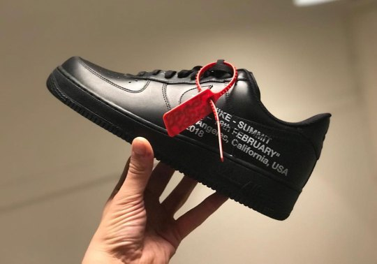 """Nike And Jordan Brand Announces """"Summit"""" Event In Los Angeles With Unreleased OFF WHITE x Air Force 1"""