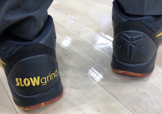 """Isaiah Thomas Receives Special """"Slow Grind"""" PE Of The Nike Kobe AD"""