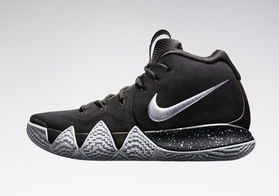 The Nike Kyrie 4 In Black/White Releases On December 20th