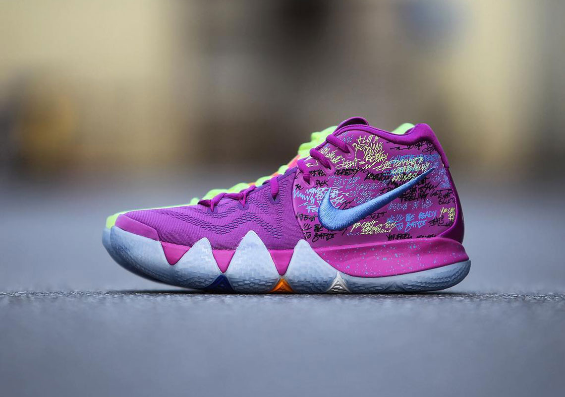 kyrie 4 womens purple