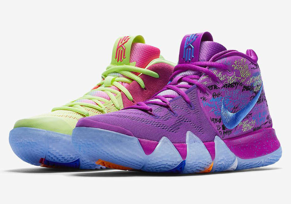 A Bold And Vibrant Nike Kyrie 4 Is Coming Soon