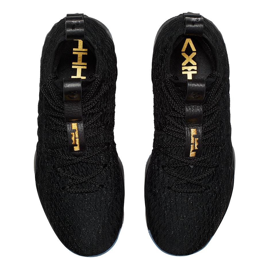 420853d63e74 Nike LeBron 15 Black Gold 897648-006 Release Details + Official ...