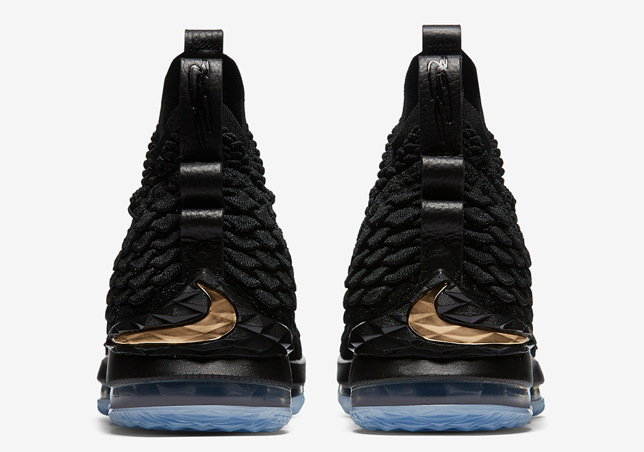 Nike LeBron 15 Black Gold 897648-006 Release Details + Official ... 3b27a4c8e1