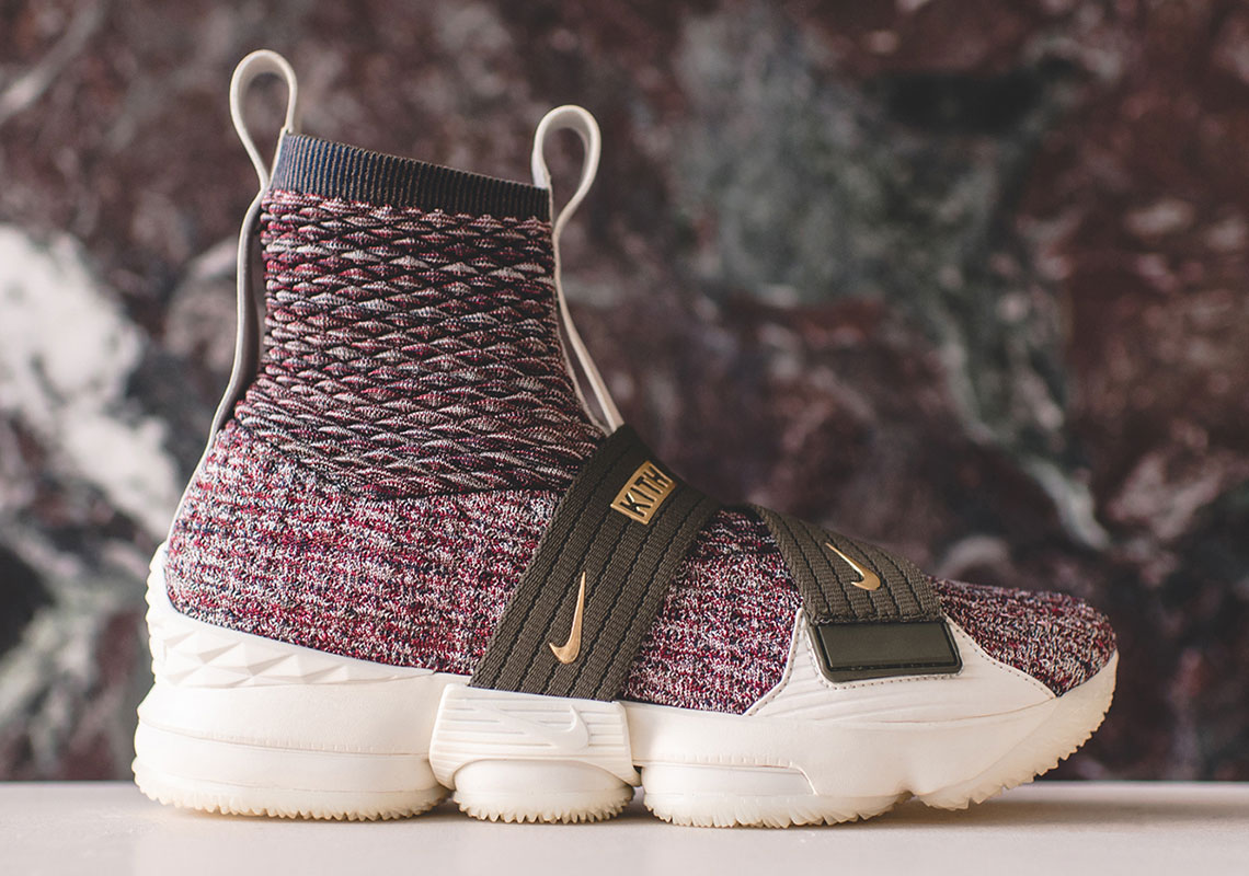 more photos 07a50 b21c4 KITH Nike LeBron 15 Release Date | SneakerNews.com