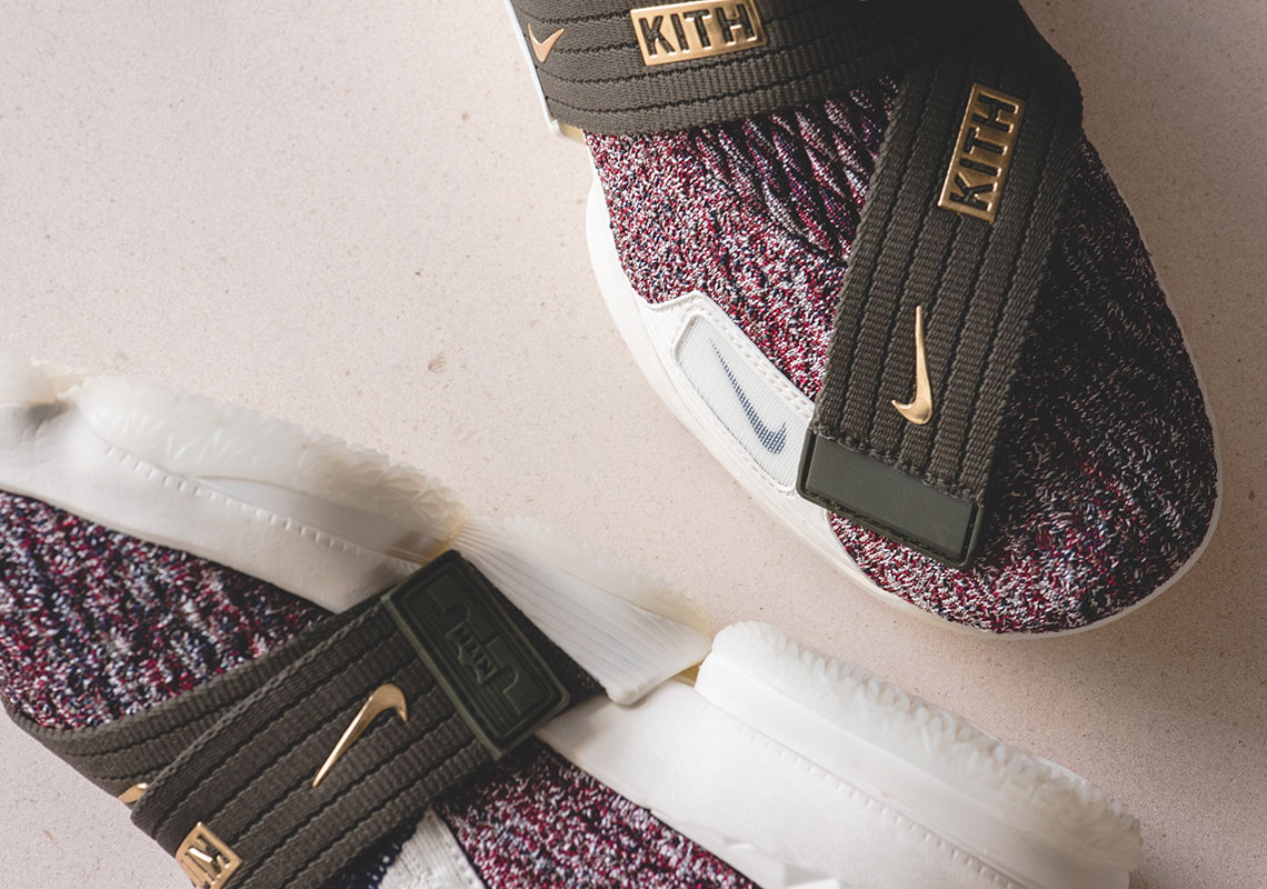 "KITH x Nike LeBron XV Perf ""Rose Gold"" Release Date  December 30th 19622284d"