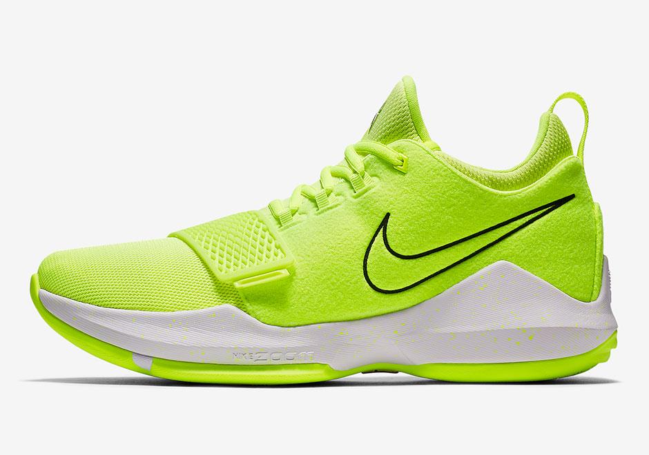 Nike PG1 Neon Volt 878628-700 Release