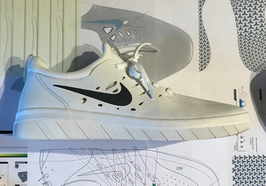 First Look At Nyjah Huston's Nike SB Signature Shoe