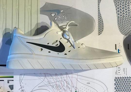 First Look At Nyjah Huston's Nike SB Signature Shoe