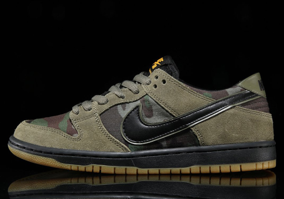 wholesale dealer bd07c 6414d Nike SB Zoom Dunk Low Classic Camo Available Now + Photos ...