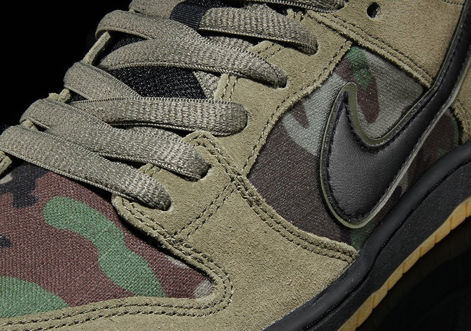 d53577f2f81 Nike SB Zoom Dunk Low Classic Camo Available Now + Photos ...