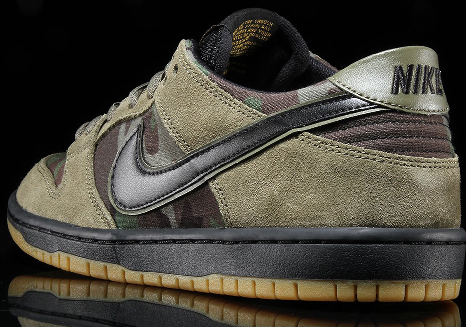 wholesale dealer 3b356 48300 Nike SB Zoom Dunk Low Classic Camo Available Now + Photos ...