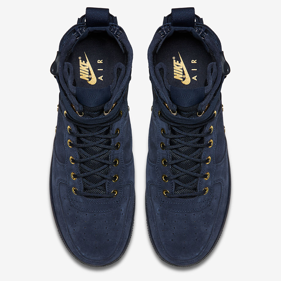 "8689ef67cb2c Nike SF-AF1 Mid ""Obsidian Suede"" AVAILABLE AT Nike  160. Style Code  917753- 400"