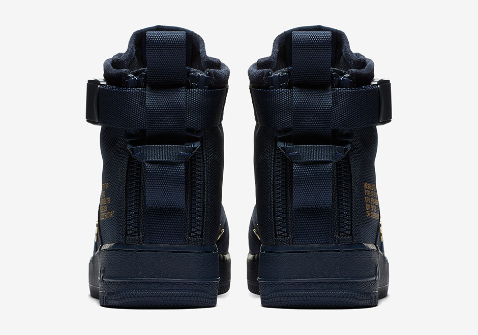 Nike SF-AF1 Mid Obsidian Suede Release