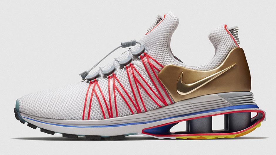 Nike Shox Gravity Release Date January 12 2018 140 Color Metallic Gold Vast Grey