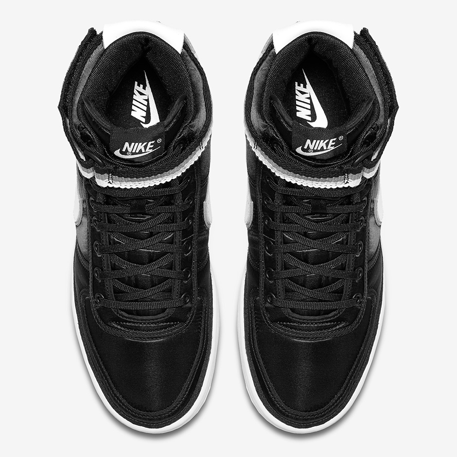 the latest d60e4 84612 Nike Vandal High Supreme Black Grey Coming Soon  SneakerNews