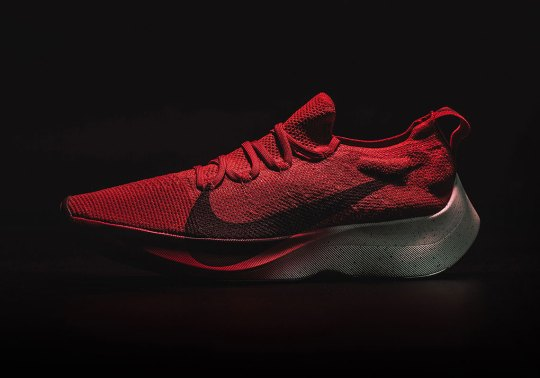 """The Nike Zoom Vapor Street Flyknit """"University Red"""" Releases This Weekend In Asia"""