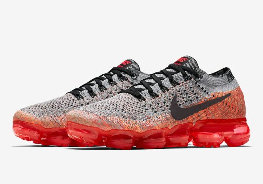 Grey And Crimson Pair Up On Upcoming Nike Vapormax Release