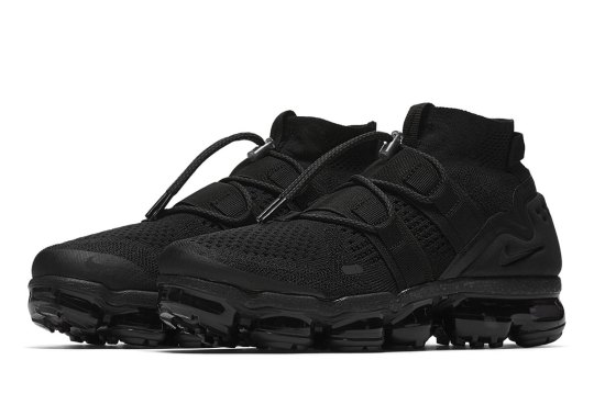Get Ready For The Nike Vapormax Flyknit Utility In Triple Black