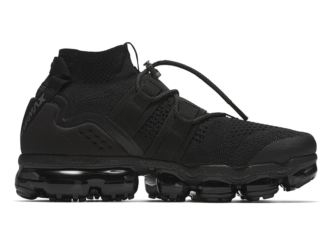 cda8ef97247ef Nike Vapormax Flyknit Utility Triple Black AH6834-001 Release Date ...