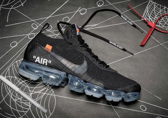OFF WHITE x Nike Vapormax Releasing In 2018 In Two New Colorways