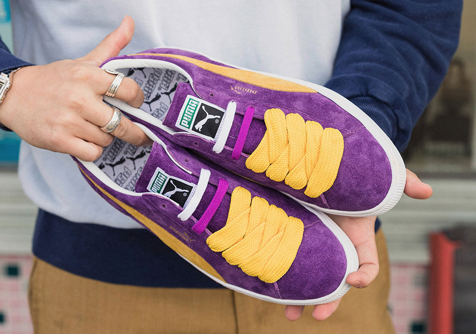 """Puma Revives Classic """"Lakers"""" Theme On The Suede For The Collectors"""
