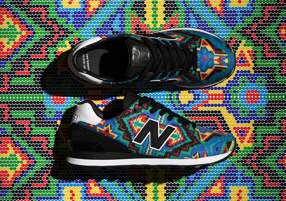 separation shoes 8e2d9 bbbe1 Ricardo Seco x New Balance 574 Collection Release Date + ...