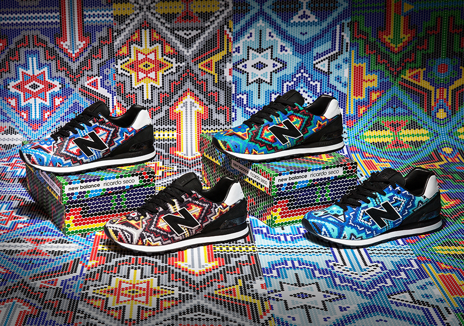Ricardo Seco Channels Mexican Heritage In His New Balance 574 Collaboration