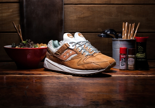 Saucony Select Reveals Grid 8500 Inspired By Ramen