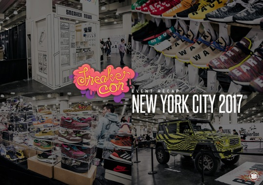 Sneaker Con's Hosts Its Biggest Turnout In History With NYC Show