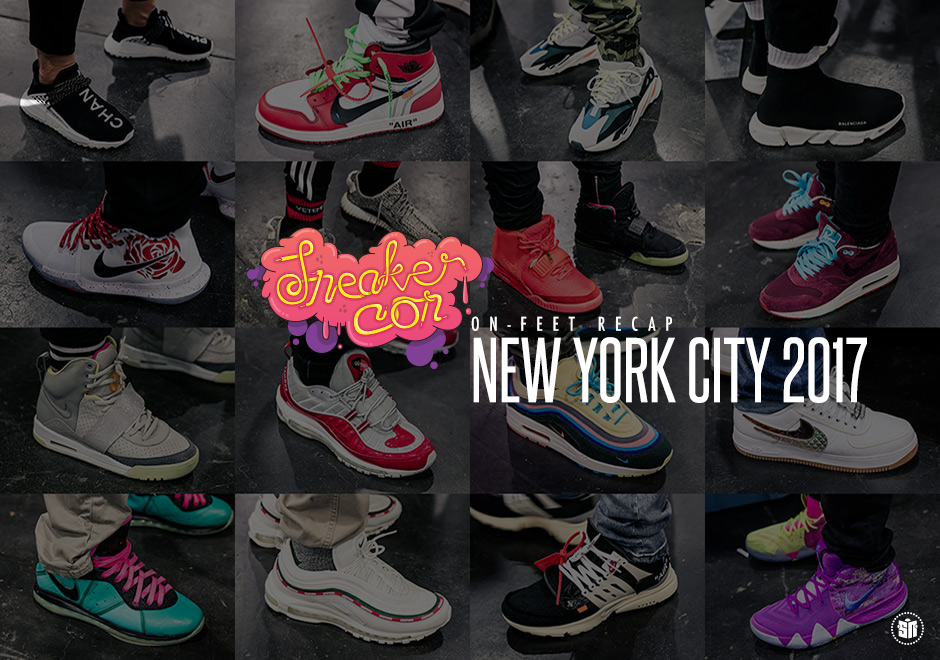 Were There More Yeezys Or Off White Nikes At Sneaker Con NYC?