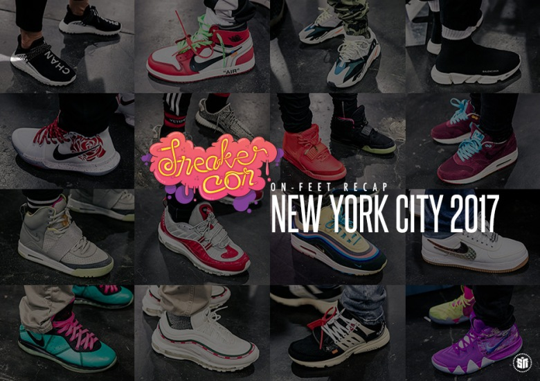 off white yeezy on feet Were There More Yeezys Or Off White Nikes At Sneaker Con NYC ...