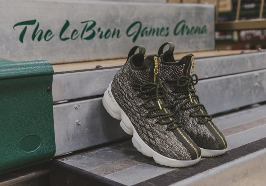 LeBron James' Alma Mater Gets The KITH x Nike LeBron 15 Early