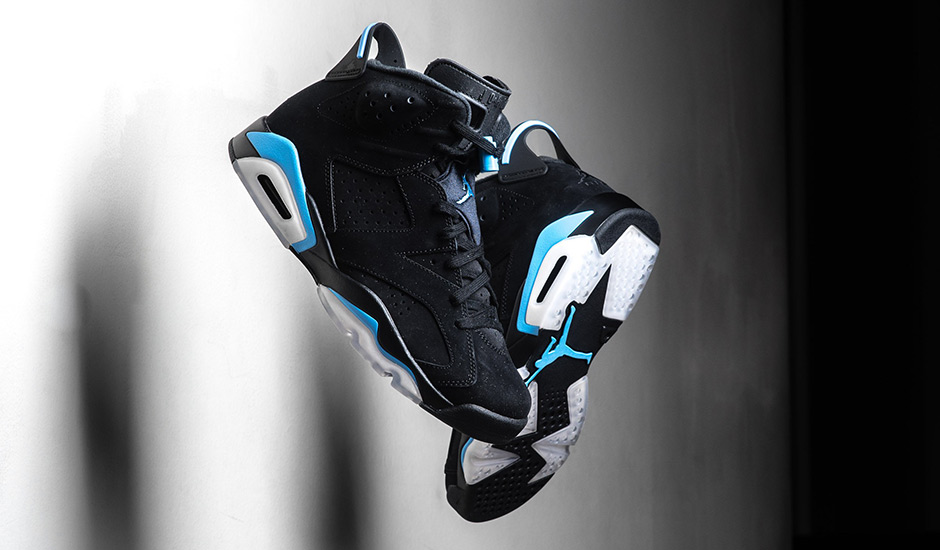 "21cb2deed82679 Air Jordan 6 ""UNC"" One of the cleanest GRs in recent memory was the simple  collegiate spin on the Air Jordan 6 Retro. With a nearly identical  color-blocking ..."