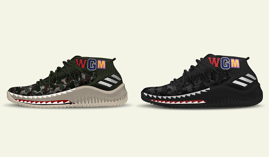 0743c9d7e8e0 adidas has plans to pair two unlikely entities during the 2018 NBA All-Star  Weekend – BAPE and the Dame 4. While no actual images have surfaced