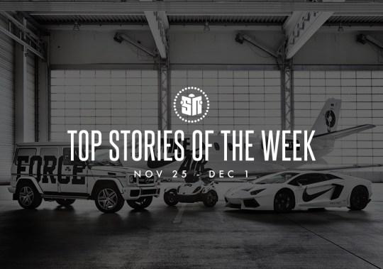 Top Stories Of The Week: November 25 – December 1