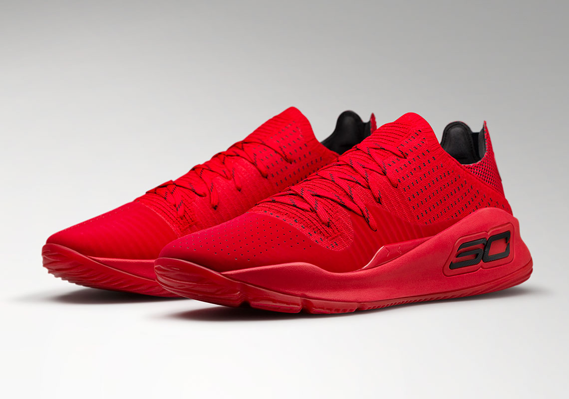 dc25180d7dbc UA Curry 4 Low Nothing But Nets Red Release Date