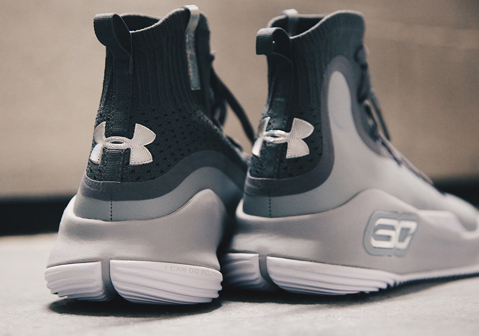 ce5e99601cd First Look UA Curry 4 More Buckets Grey