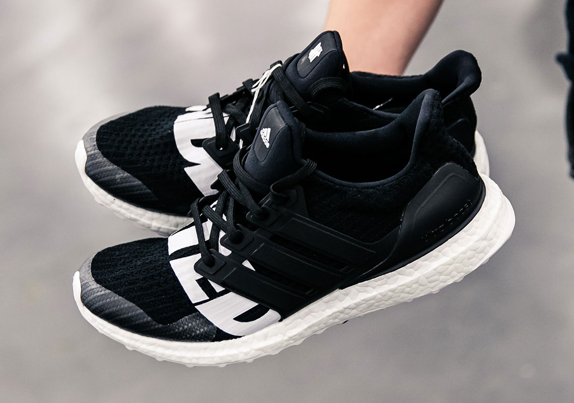 534d865bce90 Undefeated adidas Ultra Boost Black White 2018 Release