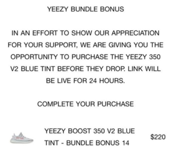 Yeezy Supply Offers Early Access To Blue Tints With Purchase Of Desert Rat Bundle